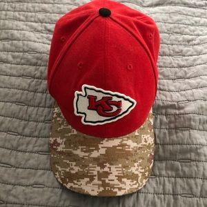 New Era NFL Salute to Service KC Chiefs Hat